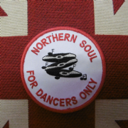 Northern Soul Dancers Patch
